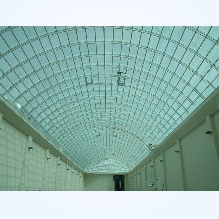 Standard Skylight - Barrel Vault - Al Naeem Mall Inside View
