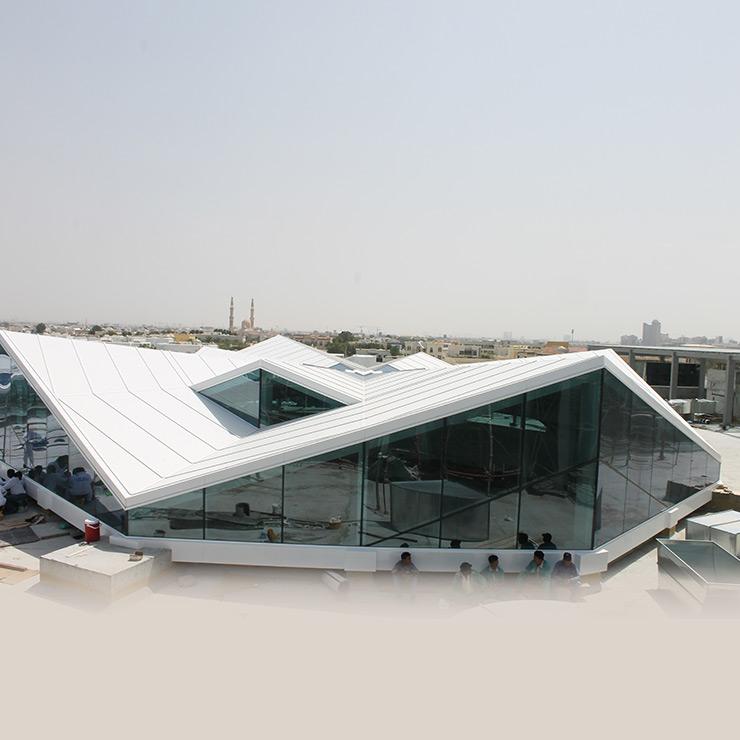 Irregular Shape Skylight - Umm Suqeim The Mall Front View