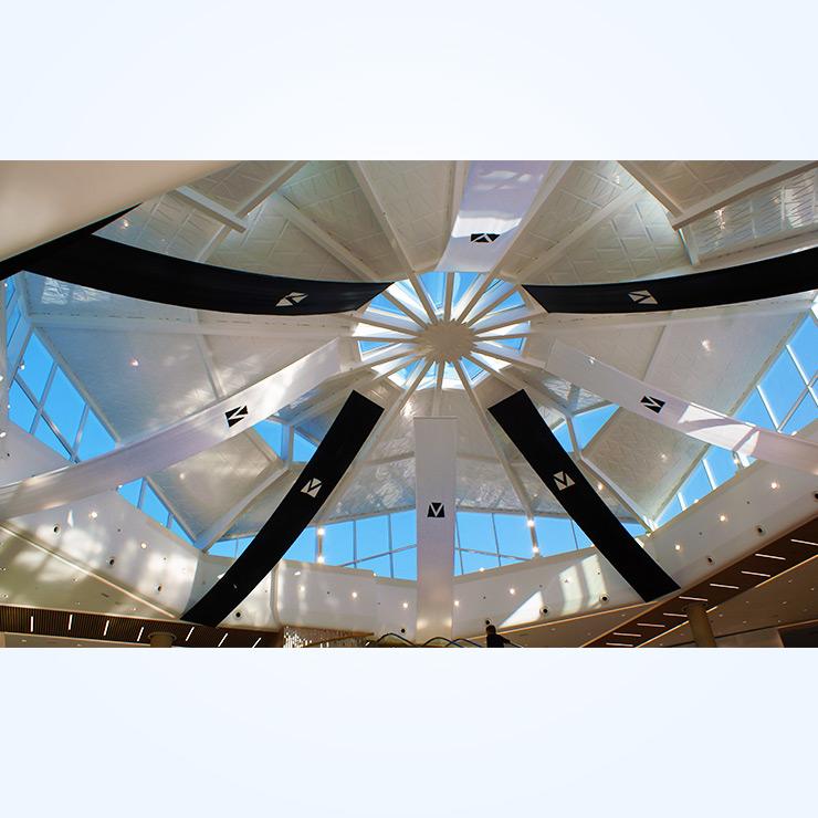 Irregular Shape Skylight - Umm Suqeim The Mall Inside View