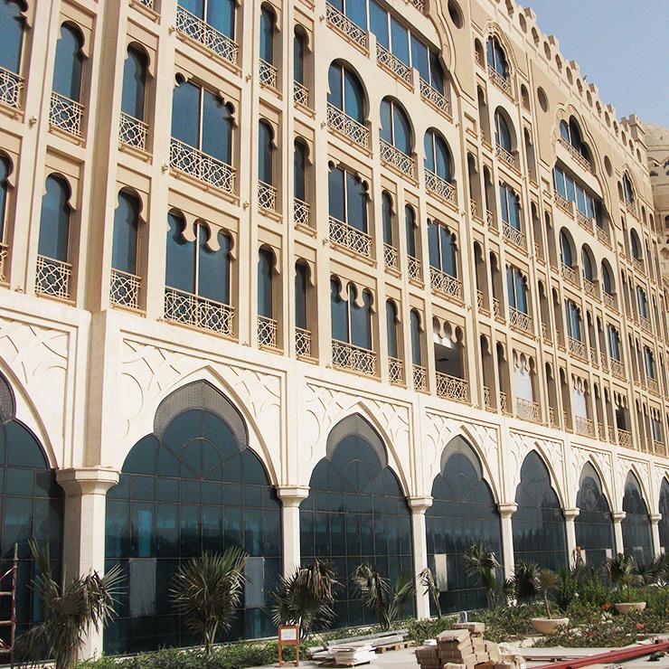 Standard Skylight - Barrel Vault - Al Naeem Mall Front View