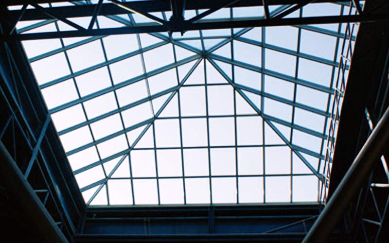 Standard Skylight - Pyramid - Pan Emirates inside View